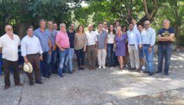 Mónica Oltra, vicepresidenta de la Comunidad Valenciana,  visita el Campus Diversia, un proyecto singular.