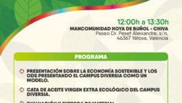 Jornada de Economía Sostenible en el Campus Diversia